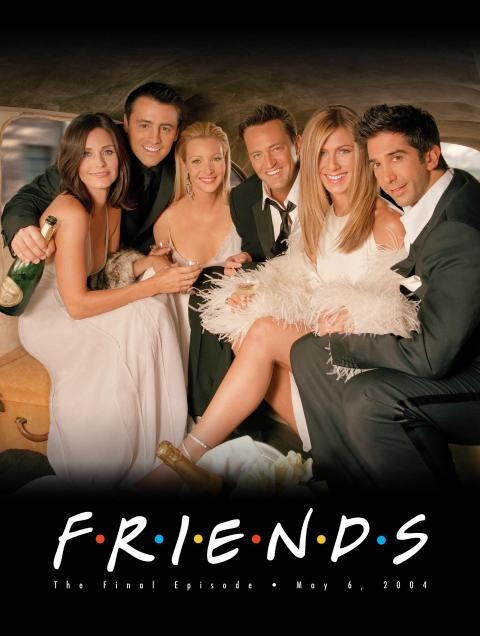 FRIENDS -- NBC Series -- Pictured: 'Friends' finale key art -- NBC Photo